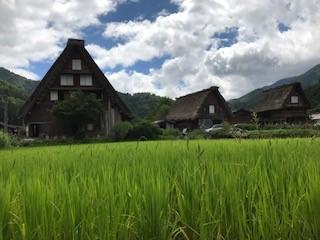 帰りにぷらりと白川郷へ、まさに日本昔話